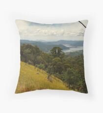 Lake Eildon Throw Pillow