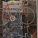 Bicycle Shop Window - Eddie Merckx Bikes by Buckwhite
