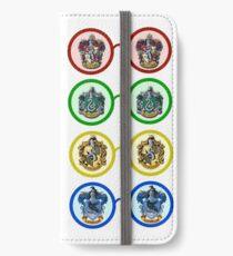 Harry Potter house glasses iPhone Wallet/Case/Skin