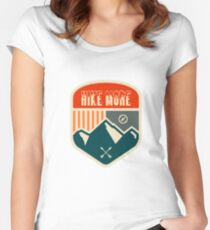 Hike More - Hiking Women's Fitted Scoop T-Shirt
