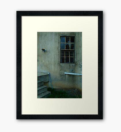 Disused Grain Silo Framed Print