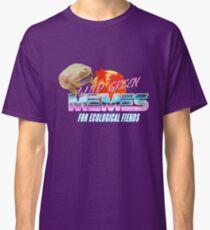 Wednesday Frog Vaporwave Logo Classic T-Shirt