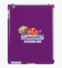 Wednesday Frog Vaporwave Logo iPad Case/Skin