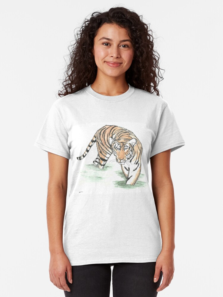 Alternate view of Tiger  Classic T-Shirt