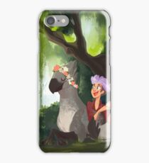 Flower Crowns and Hippogriffs iPhone Case/Skin
