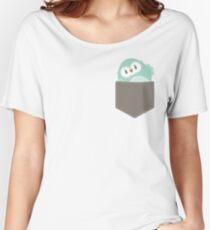 POCKET PALS :: owl - foam Women's Relaxed Fit T-Shirt