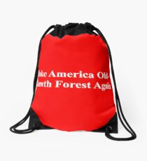 Make America Old-Growth Forest Again Drawstring Bag