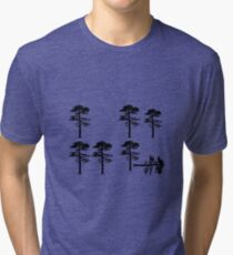 Longleaf Pine Loss Tri-blend T-Shirt