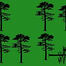 Longleaf Pine Loss by Wild Green Memes Store