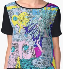 what the dream told me Chiffon Top
