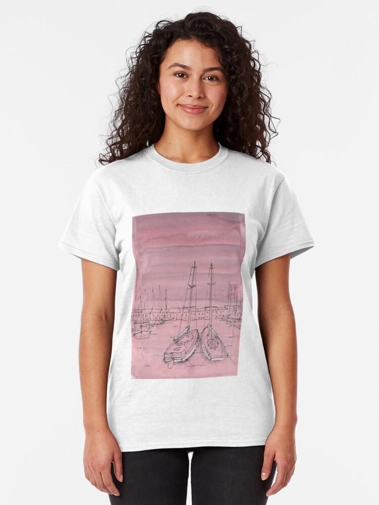 Alternate view of Dreams of Marseilles Classic T-Shirt