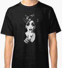 Bianca Del Rio - Schwarz-Weiß-Halbton Classic T-Shirt