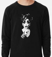 Bianca Del Rio - Schwarz-Weiß-Halbton Leichtes Sweatshirt