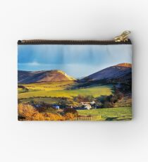 Looking over Lulworth Zipper Pouch