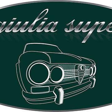 Alfa Romeo Giulia Super by fmd159