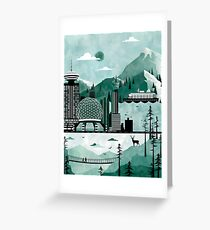 Vancouver Illustration Greeting Card