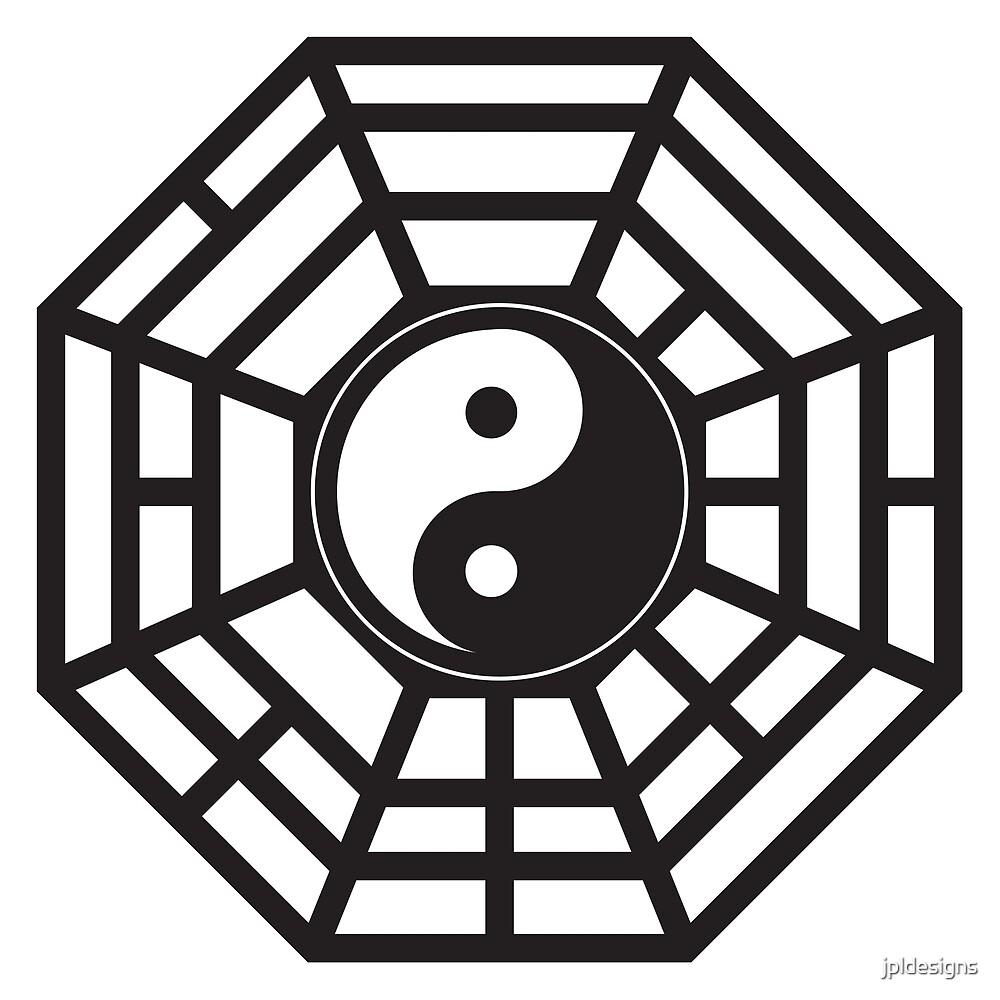 Bagua Trigram Yin Yang Eight Symbols Taoist Cosmology Chinese