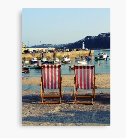 The English Summertime Canvas Print