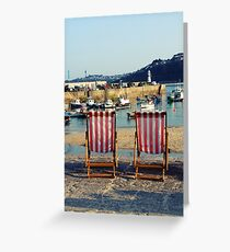 The English Summertime Greeting Card