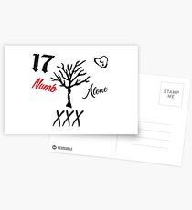 RIP XXXtentacion Postcards