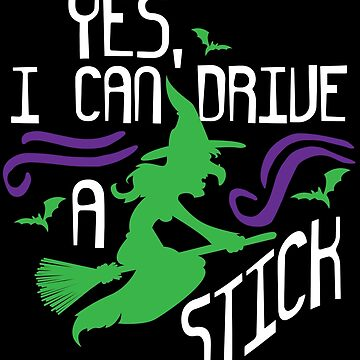 Halloween Witch Broom Stick Funny Girls Kids Gift by kh123856