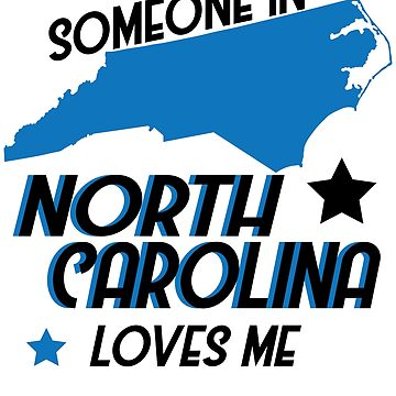 North Carolina Long Distance Couples Men Women Gift by kh123856
