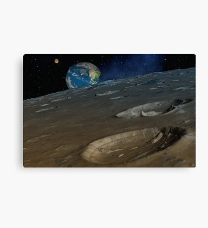 Armageddon Approaches Canvas Print
