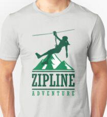 Zip Line Adventure Unisex T-Shirt