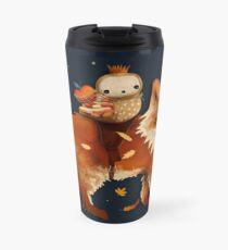 Owl Queen and Faraway Fox Travel Mug