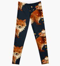 Owl Queen and Faraway Fox Leggings