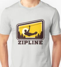Zip Line Unisex T-Shirt