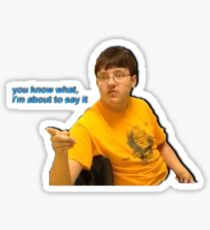 i dont care that you broke your elbow vine Sticker