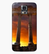 Temple of Saturn Ruins Case/Skin for Samsung Galaxy