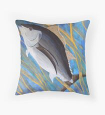 albacore hooky from school Throw Pillow