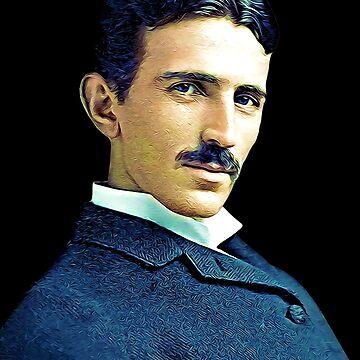 Nikola Tesla by biggeek