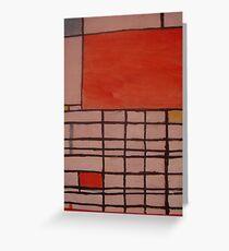 Piet Mondrian by Kaser Greeting Card