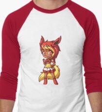 Flareon Magical Girl Chibi Men's Baseball ¾ T-Shirt