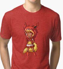 Flareon Magical Girl Chibi Tri-blend T-Shirt
