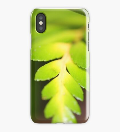 Fern iPhone Case