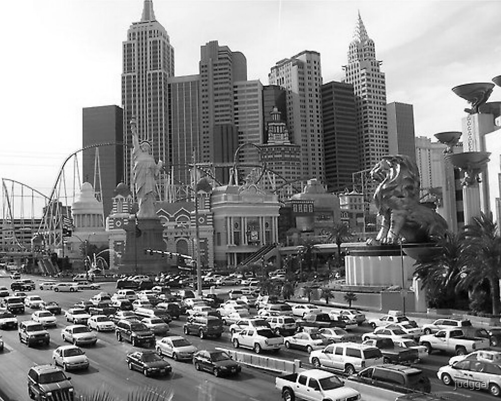New York New York in Vegas by judygal