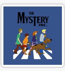 Scooby Doo The Mystery Inc. Sticker