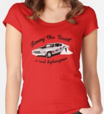Jimmy the Saint Women's Fitted Scoop T-Shirt