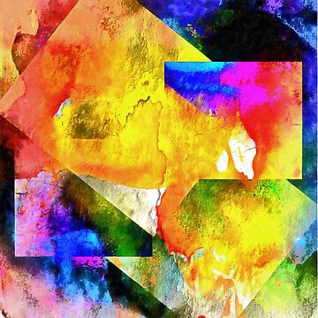 Shapes in Abstract Rioting Colour by ShannathShima