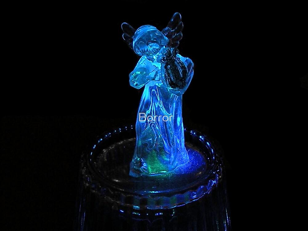 Blue angel by Borror