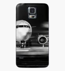 Flugzeugfront Nahaufnahme Hülle & Klebefolie für Samsung Galaxy
