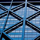 Urban Lines on a Building in San Francisco by Buckwhite