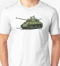 The Dogs of War: Sherman Tank T-Shirt