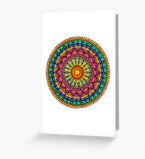 Floral Mandala - Joy Greeting Card