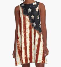Americana A-Line Dress