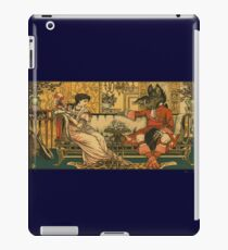 Beauty and the Beast original illustration iPad Case/Skin